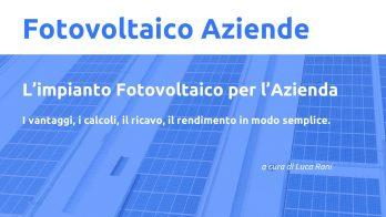 Fotovoltaico per le aziende a investimento zero