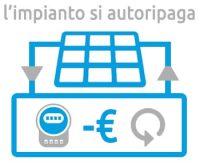 fotovoltaico si autoripaga con la produzione