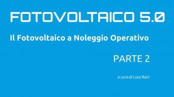 consigli fotovoltaico a noleggio operativo 2